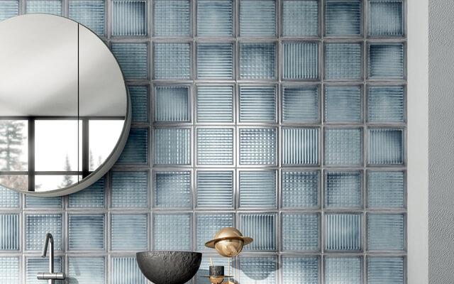 Gạch kính ốp tường