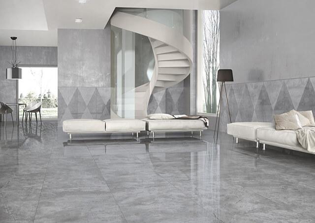 Tránh chọn gạch ốp lát sai kích thước cho phòng khách