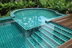 Các loại gạch ốp bể bơi đẹp, cao cấp
