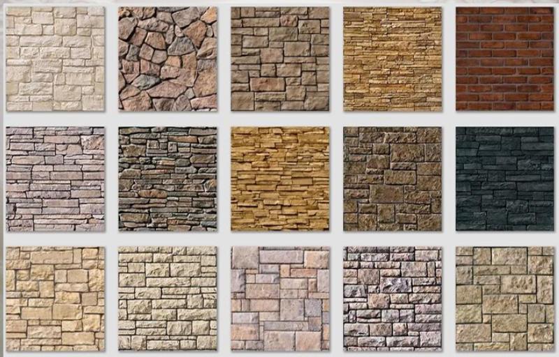 Gạch đá ốp tường ngoài trời